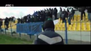 Varvari 2014 - Navijači pesma na utakmici.