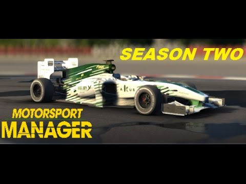 FIRST RACE OF THE SEASON - CHANCE OF A WIN?!? | Let's play Motorsport Manager S2 Ep2