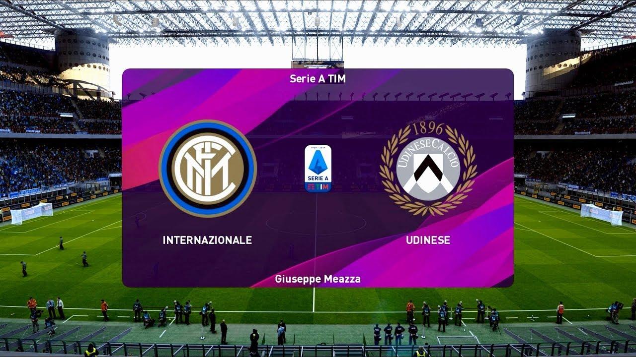 Inter Milan vs Udinese   Giuseppe Meazza Stadium   2019-20 ...