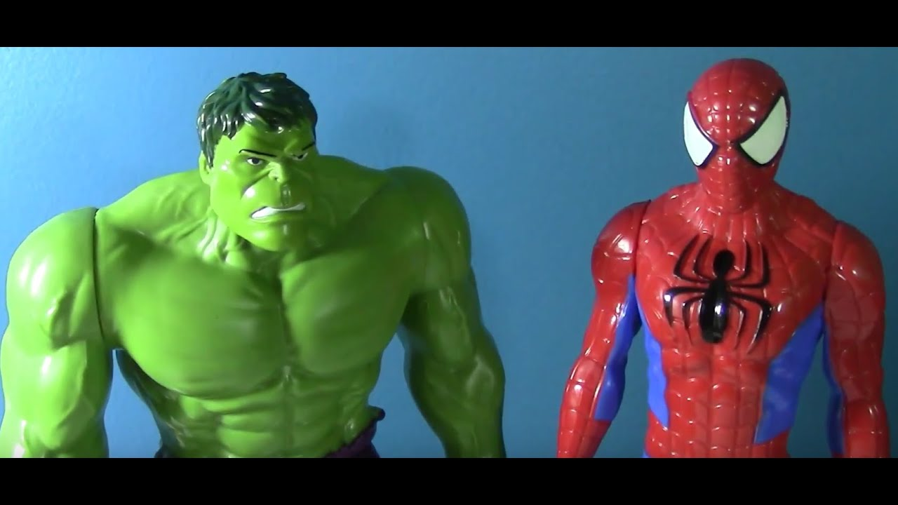 Hulk and Spiderman Fight || ULTIMATE SPIDERMAN VS THE