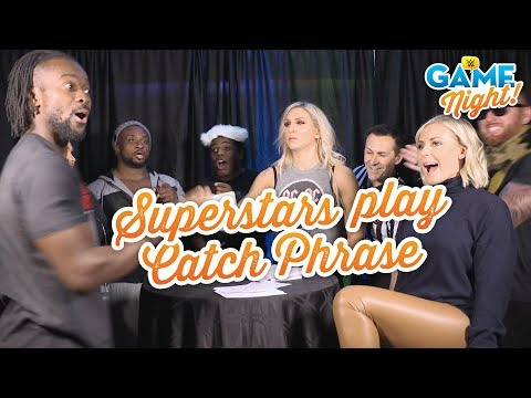 WWE Superstars play Catch Phrase: WWE Game Night