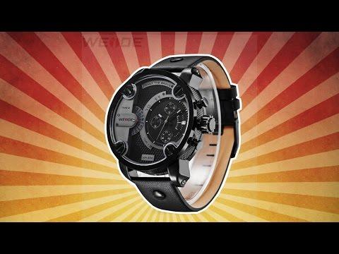 ШОК! Часы Weide WH-3301 за 1 рубль | халява на aliexpress | почти даром на алиэкспресс |