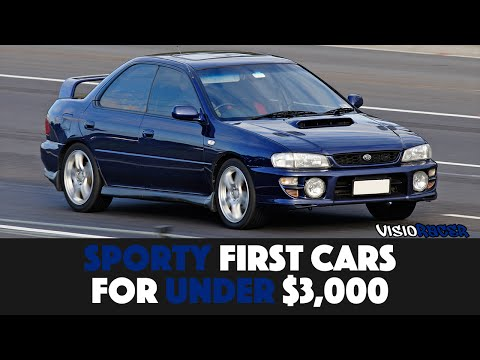 7 Great First Cars For Under $3,000