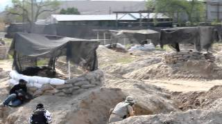 Brand New Code Red Airsoft Field (under Construction) - Test Game