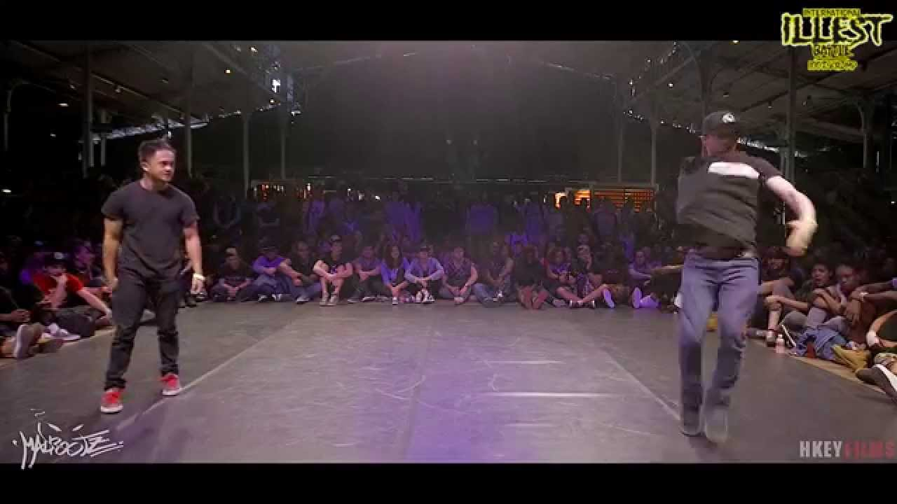 IIB 2015 100% KRUMP 1/4 FINALS GUYZ : BABY EYEZ vs UGLY ...