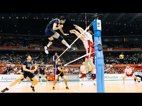 LIKE a BOSS   Crazy Volleyball Spikes   HD  