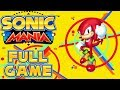 Sonic Mania - Full Game as Knuckles (All Chaos Emeralds)