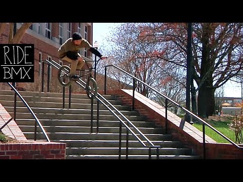 DAILY GRIND: REROUTING - TRENT LUTZKE FULL SECTION (BMX)