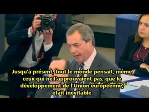 Nigel Farage à Antonis Samaras - Vous êtes une marionnette de Goldman Sachs
