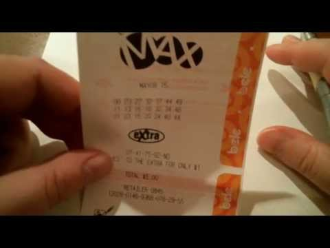 Canadian 50 million dollar Lotto Max - May 8, 2015