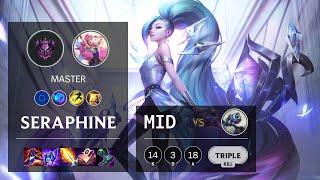 Seraphine Mid vs Fizz - EUW Master Patch 10.24