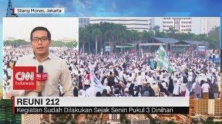 Situasi Terkini Reuni 212: Massa Mulai Padati Monas Jakarta