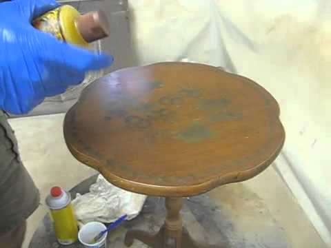 Removing Stubborn Paint Spots Thomas Johnson Antique Furniture Restoration