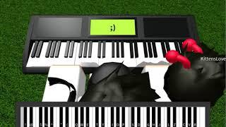 Piano RobloxMD Plus heureux - Marshmello ft. Bastille - Bastille - France COMPLET (Notes dans la description)