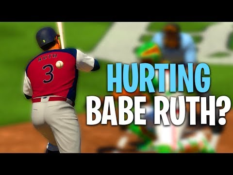 HE DID THIS TO BABE RUTH TWICE?! MLB The Show 18   Battle Royale