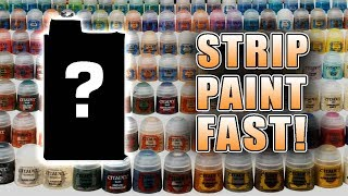 Strip Paint Off Miniatures in Less Than a Minute!