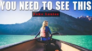 The BEST Place In The WORLD - Lake Louise Banff Alberta & Hot Springs British Columbia