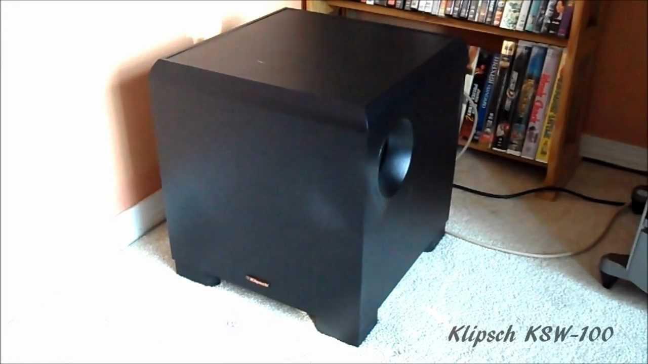 Klipsch ksw-10 hookup