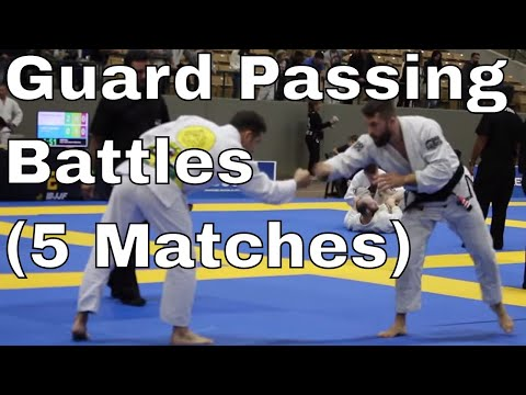 Chewy Competing In Nashville (Guard Passing Battles, 1 Rolling Kimura)