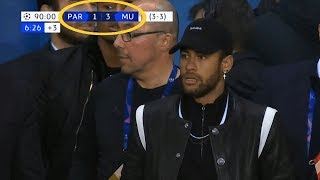 Footballers Reactions to PSG vs Manchester United 1-3 Champions League