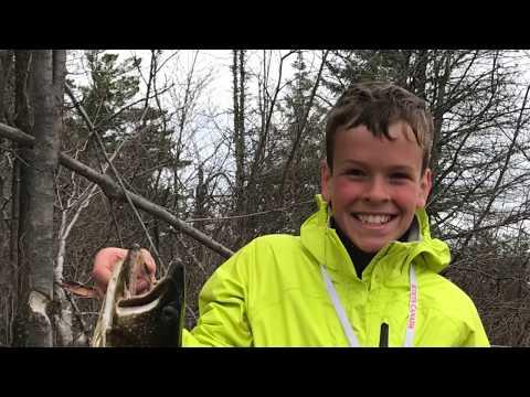 2017 Algonquin Park Trout Fishing Trip