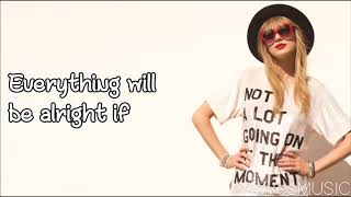 taylor swift 22 lyrics