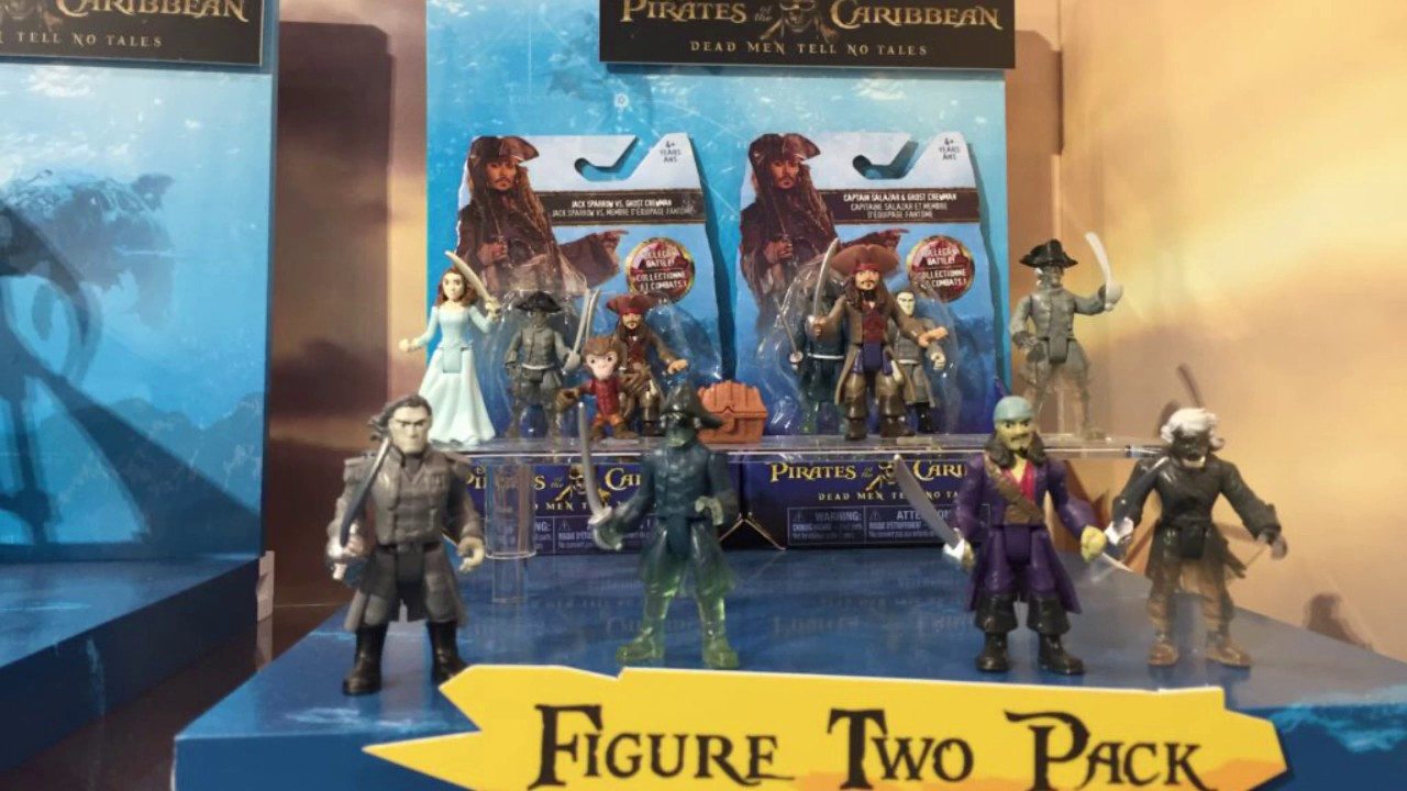 Pirates Of The Caribbean Toys : Pirates of the caribbean dead men tell no tells new toys