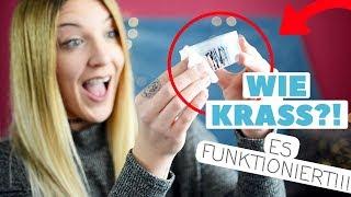 LIFE-HACKS im TEST - Wasserfesten Stift entfernen, Pinsel reinigen.. l Kathinska