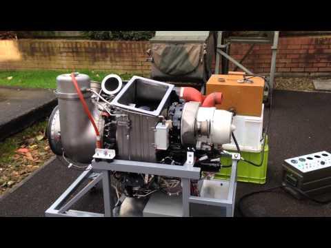 Garrett (Honeywell) GTCP85 APU BAC1-11 Gas Turbine