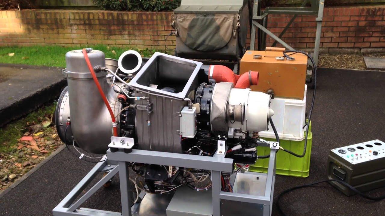 Garrett Honeywell GTCP85 APU BAC1 11 Gas Turbine