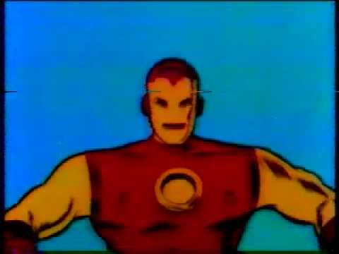 Iron Man 1966 Cartoon Intro