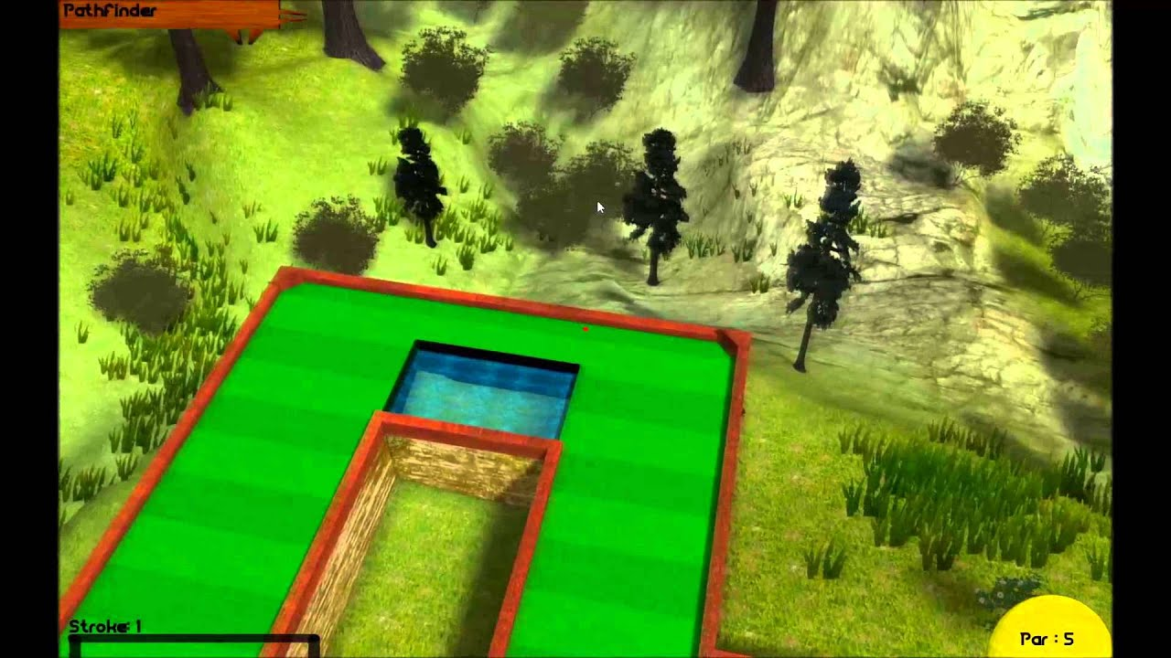 Multiplayer Mini Golf Demo Clip 3 - Unity3D Game Dev