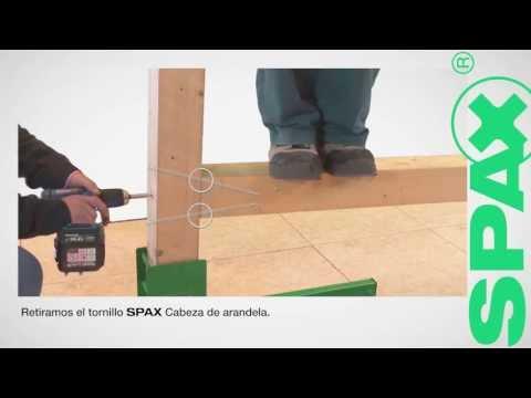 SPAX Cabeza cilíndrica