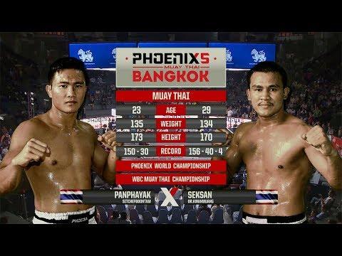 Panphayak Sitchefboontam Vs Seksan Or. Kwanmuang - Full Fight (Muay Thai) - Phoenix 5 Bangkok
