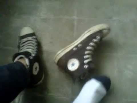 Converse All Star Hi Tops Shoeplay from YouTube · Duration:  1 minutes 40 seconds