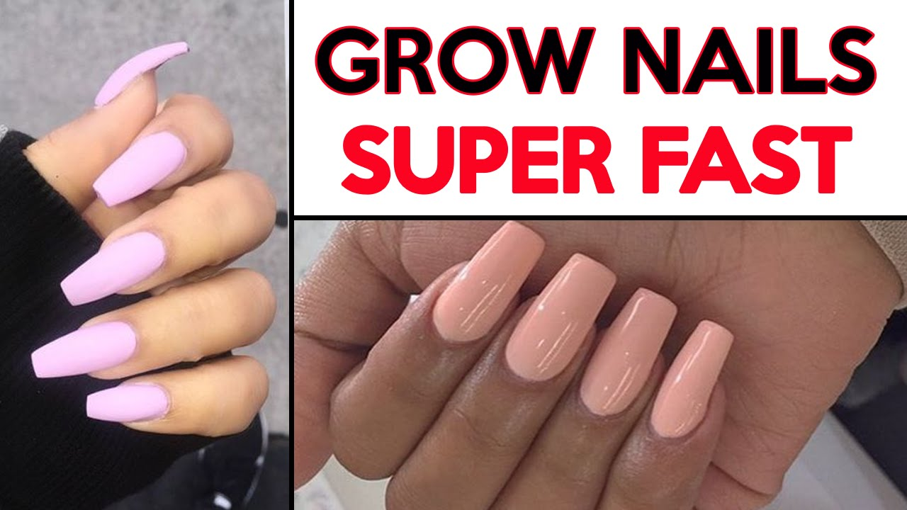 ❤ How To Grow Your Nails FAST | 4 Hacks To Grow Nails SUPER Fast ...