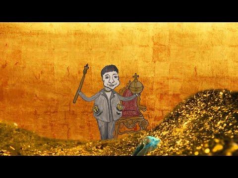 Золото манит нас.