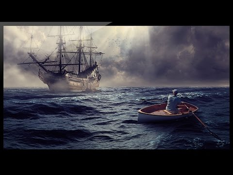 Photoshop Compositing Tutorial - Photo Manipulation - Ghost Ship