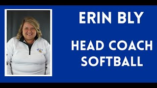 Welcome to Softball with Erin Bly