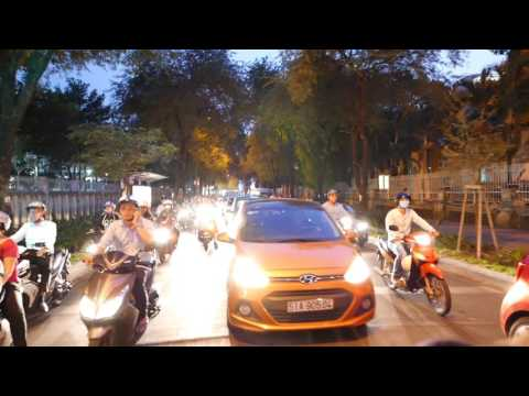 Grab Moto Taxi Backpacker District To Binh Thanh