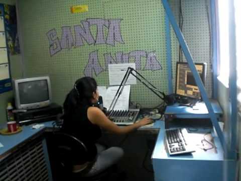 El Puritan entrevista en santa anita radio en Honduras