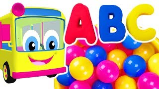 Kids Learn Colors & ABCs with Play Doh Surprise Eggs | Teach ABC Songs for Children | Baby Talk