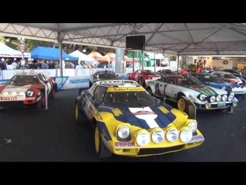 Lancia Stratos & Group B - LEGEND SHOW - 9th Rally Legend 2011 - San Marino - Pure Sound [HD]
