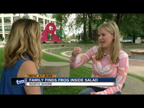 The Mo & Sally Show - Woman Finds Live Frog In Her Bag Of Salad