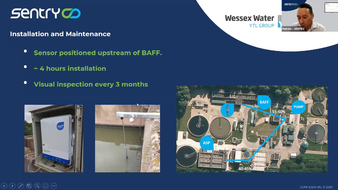 Aeration optimization with Wessex Water