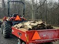 #315 FIREWOOD DELIVERY, Sawmill Update, and product Questions Answered