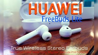 FreeBuds Lite HUAWEI Unboxing | Ceramic White