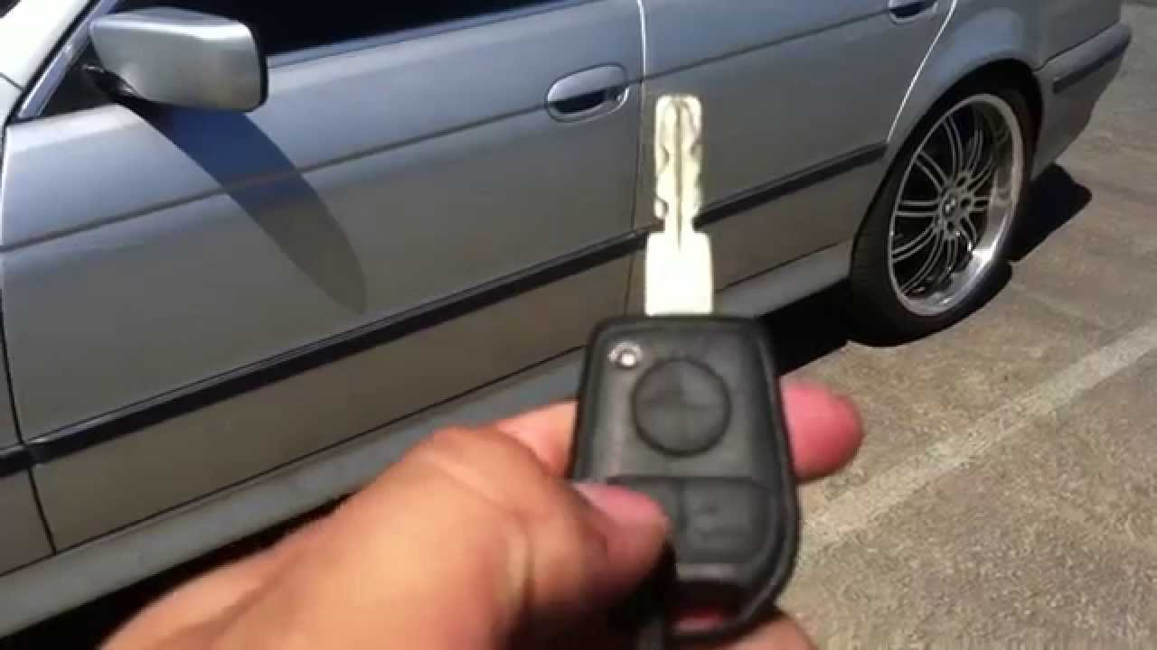 hight resolution of how to roll down windows with key remote 1997 2000 bmw 5 series e39 528i 525i 530i 540i m5 youtube