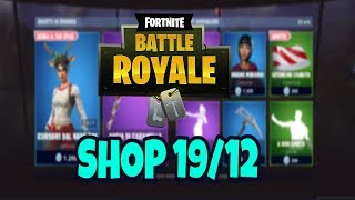 SHOP FORTNITE aujourd'hui 19 DÉCEMBRE: peau INCURSOR OF RED NASO et RANGER OF RED NASO