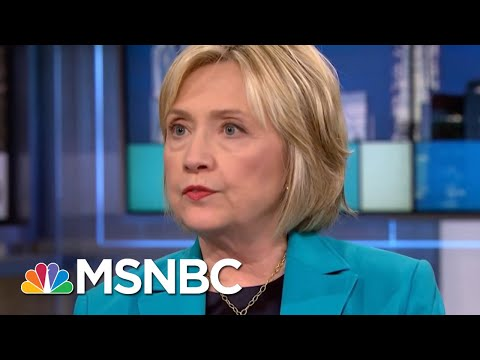 Clinton: W.H. Should Ask FBI To Reopen Brett Kavanaugh Background Check | Rachel Maddow | MSNBC